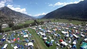 Camping am Openair Gampel 6