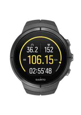 SUUNTO - SPARTAN - Ultra Stealth Titanium - Front View_Cycling basic