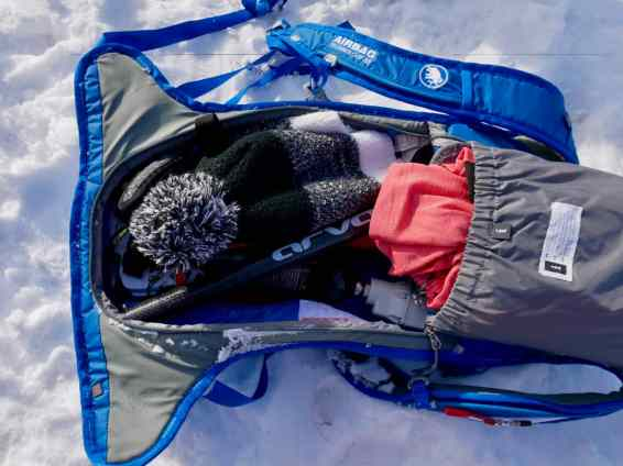 Test Mammut Ultralight Removable Airbag 3.0 01
