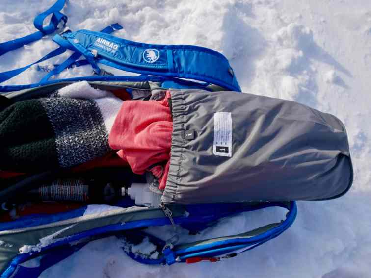 Test Mammut Ultralight Removable Airbag 3.0 03