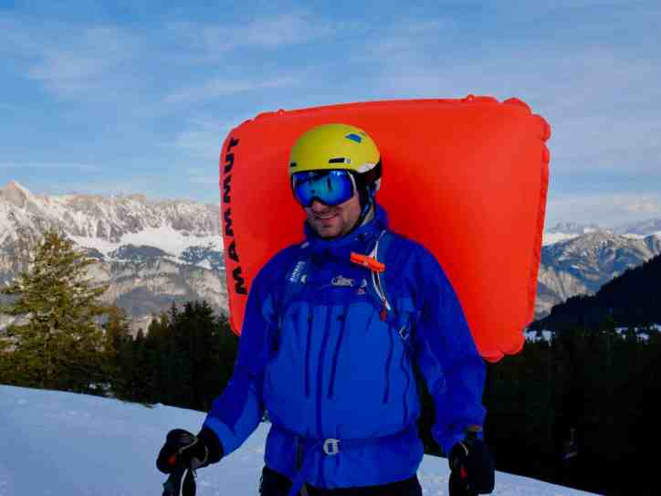 Test Mammut Ultralight Removable Airbag 3.0 24