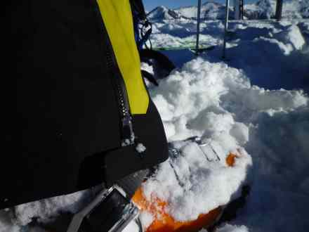 Skikanten- und Steigeisen-Schutz