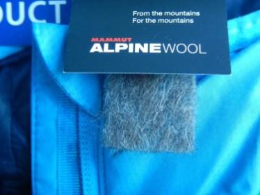 ein Muster der Isolation aus Wolle