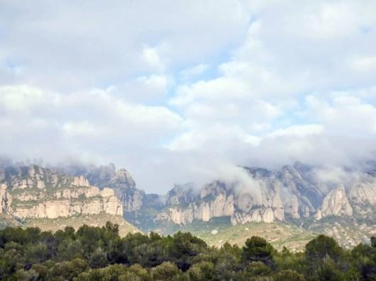Monserrat Klettergebiet leider zu nass