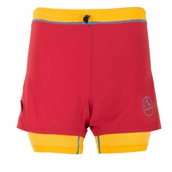 La Sportiva_Vibe Short W_Berry-Yellow