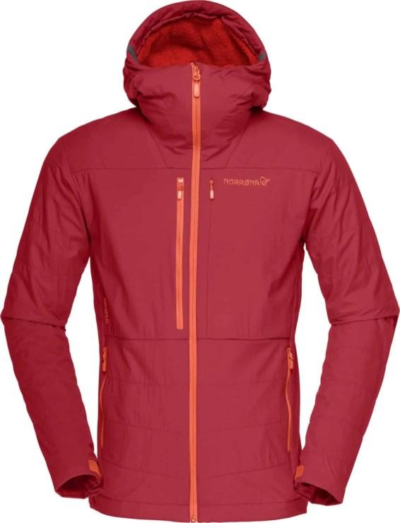 lofoten Powershield Pro Alpha Jacket_Jester Red