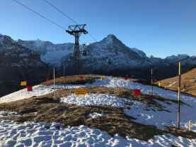 Ende Dezember und kaum Schnee im Messfeld Grindel auf rund 2000 m (Grindelwald, BE). Foto: D. Balmer, 31.12.2016