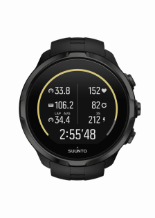 SUUNTO - SPARTAN - Sport Wrist HR All Black - Front View_TR-Cycling basic D7