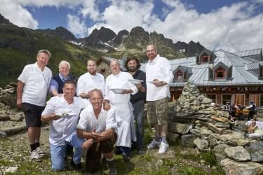 Die Starköche –Kulinarischer Jakobsweg, Ischgl, Tirol
