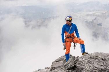 David Lama testet die Mammut Eiger Extreme 2017 Kollektion