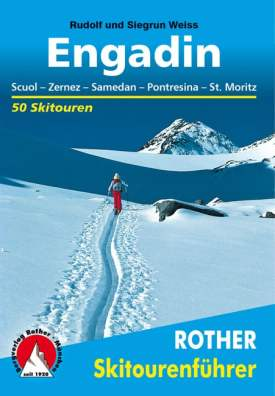 Cover Rother Skitourenführer Engadin