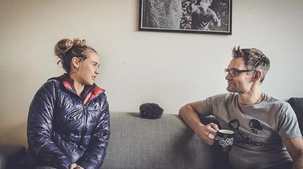 Making-of: Interview mit Margo Hayes