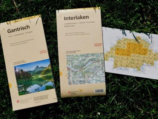 neue schweizer wanderkarten - 2