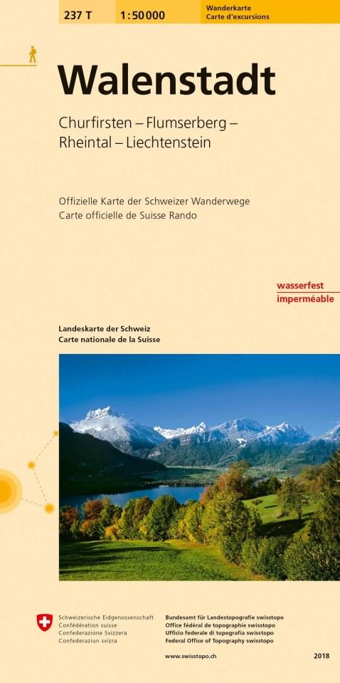 Kartentitel Walenstadt