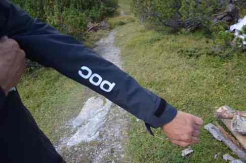 POC Resistance Pro Enduro Rain Jacket Aermel
