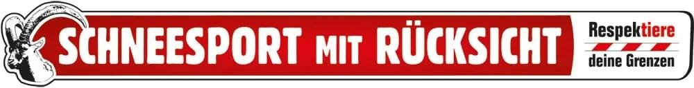 Logo Kampagne «Respektiere deine Grenzen – Schneesport mit Rücksicht» «Respektiere deine Grenzen – Schneesport mit Rücksicht» sensibilisiert Schneesportaktive für die Bedürfnisse der Wildtiere.