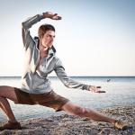 Tai Chi ist stilisierter, meditativer Kampf.
