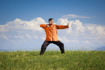 Qi Gong ist eine fernöstliche Meditationsform.