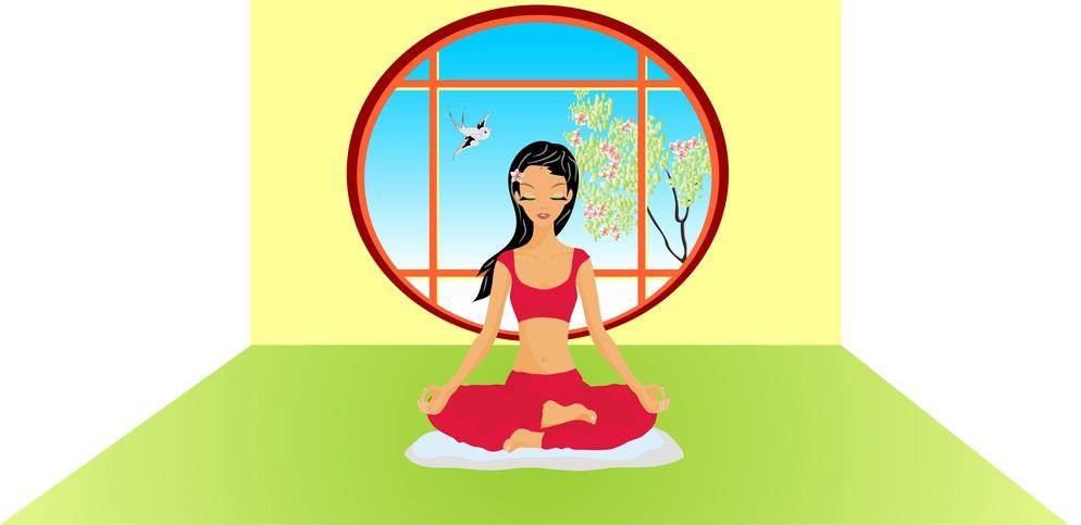 Dein Meditationsplatz sollte möglichst frei von Ablenkungen sein.