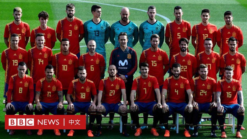 西班牙足球隊世界杯球衣引發政治爭議 - BBC 中文網