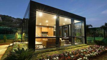 Creating low cost luxury modular homes   BBC News