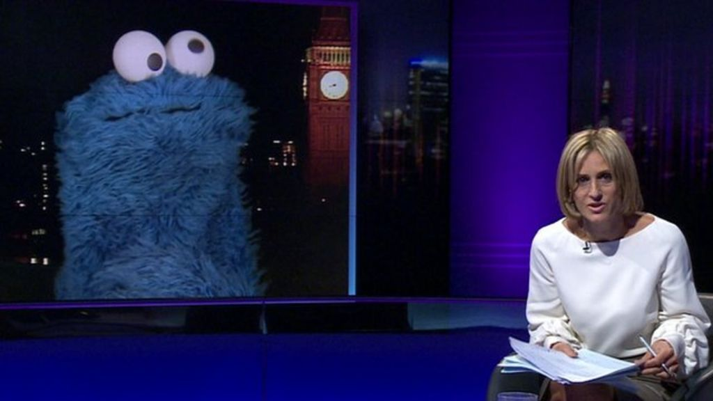 cookie monster chair bedroom decor newsnight's emily maitlis lets have the last word - bbc news