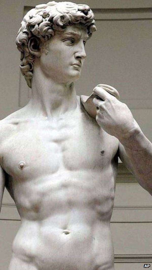Italy In Arms Over Michelangelo' David Rifle Advert - Bbc