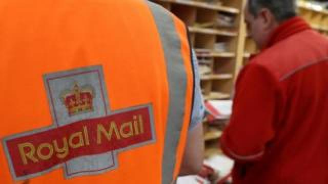 Royal Mail workers