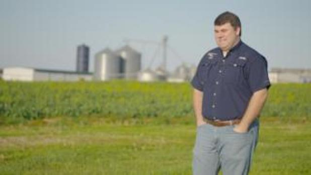 Will Hutchinson is a fourth generation farmer from Tennessee