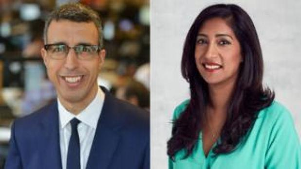 Kamal Ahmed and Tina Daheley