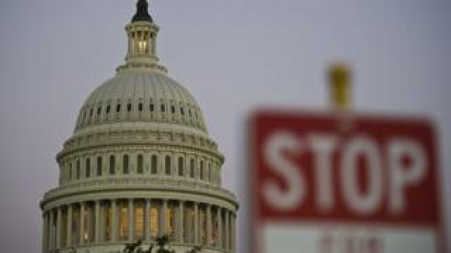 Capitol building during 2013 shutdown