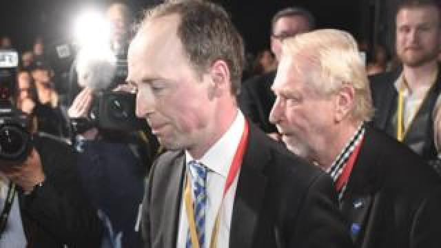 Jussi Halla-aho, leader of the Finns party (10 June)