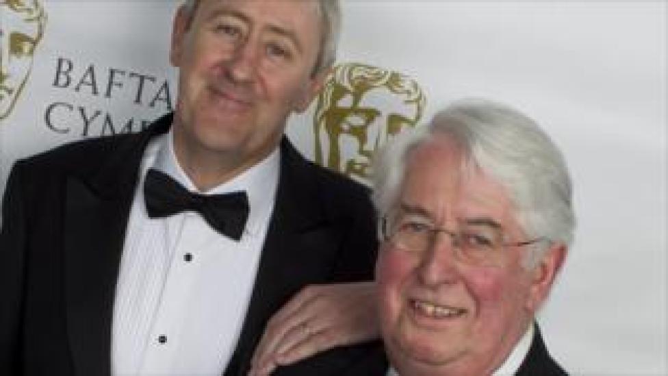 Gareth Gwenlan and Nicholas Lyndhurst