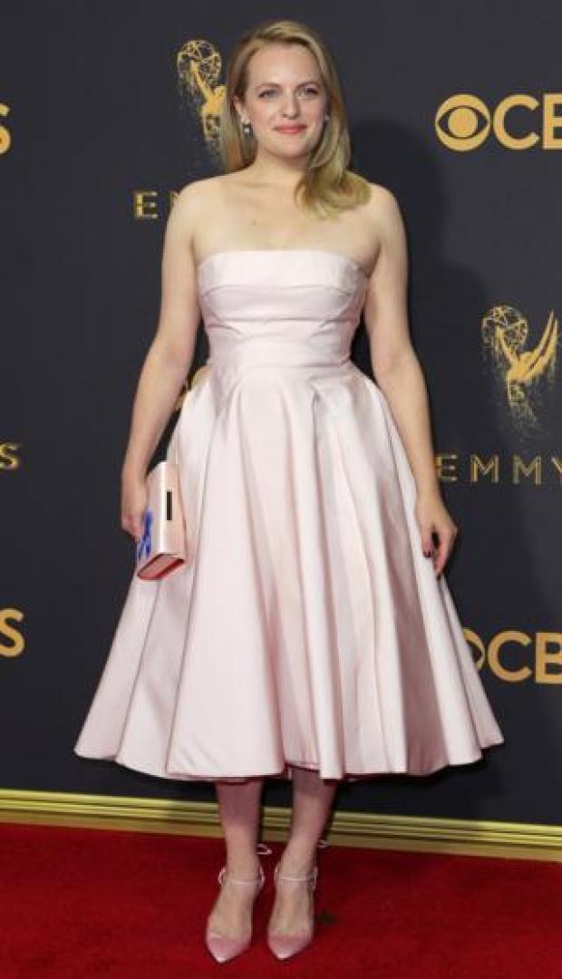 Elisabeth Moss at the Emmys