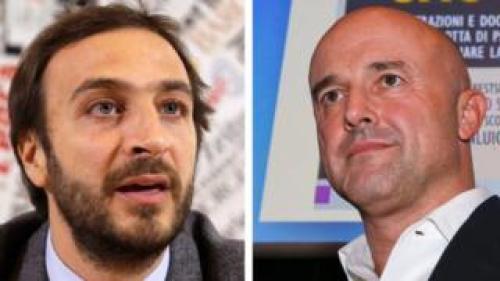 Emiliano Fittipaldi and Gianluigi Nuzzi