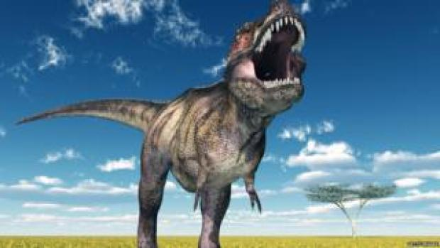 T rex was a fierce carnivore