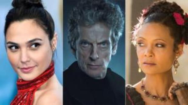 Gal Gadot, Peter Capaldi and Thandi Newton