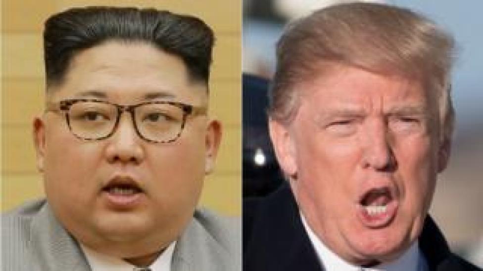 Trump iyo Kim Jong-un