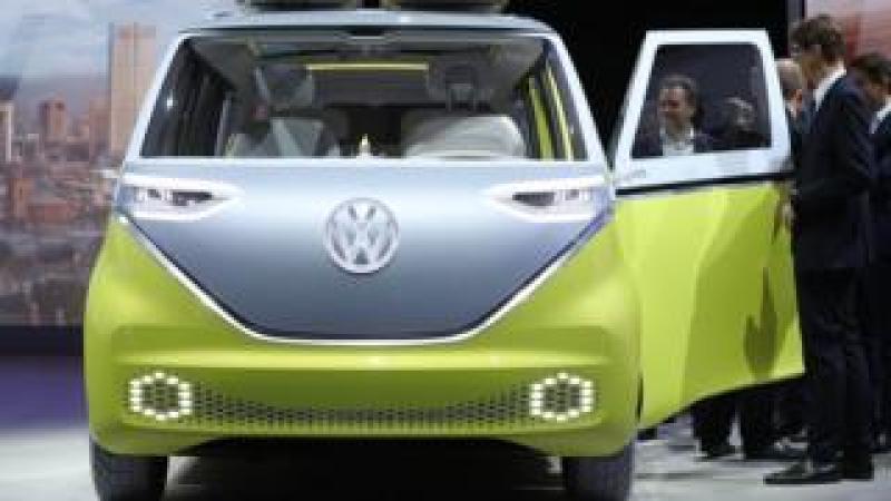 VW electric micro-bus