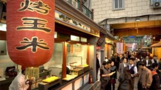 Beijing food stalls