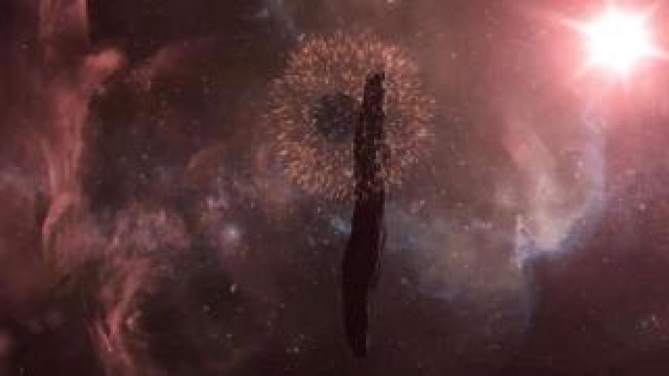 Artwork: 'Oumuamua