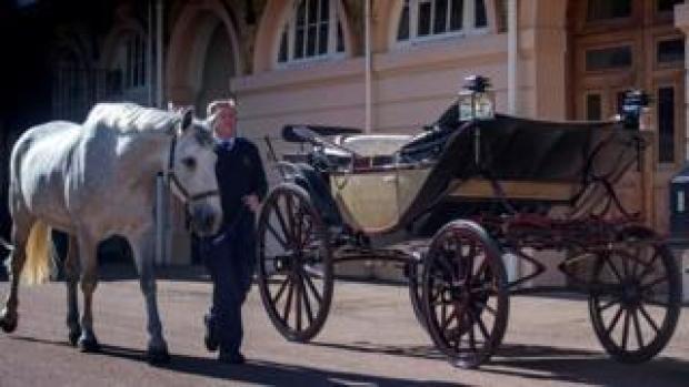 The Ascot Landau carriage