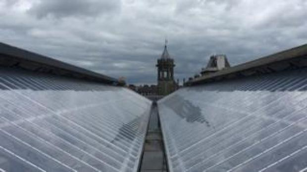Carlisle Station roof