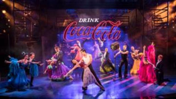 The cast of Strictly Ballroom