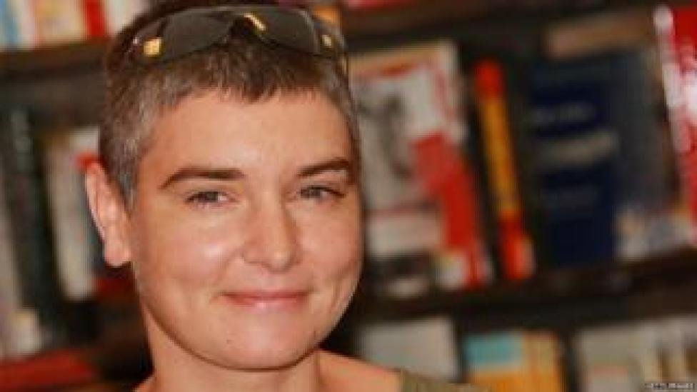 Sinead O'Connor pictured in 2007 to promote an album
