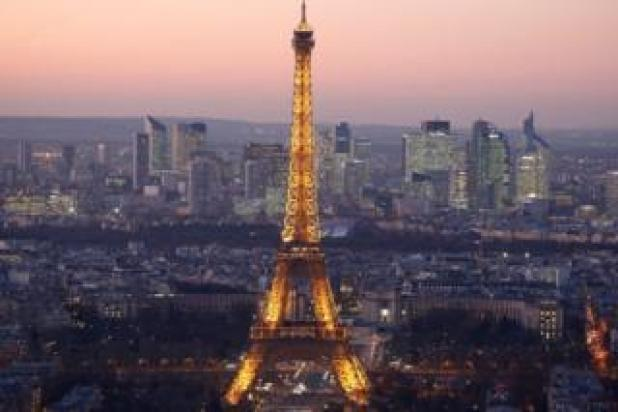 Paris skyline at night - November 2016