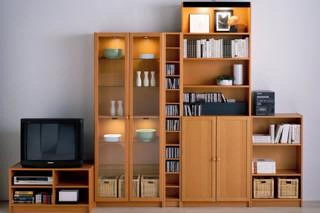 Various items from the Billy bookcase range