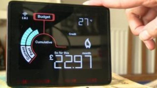 Smart meter display unit