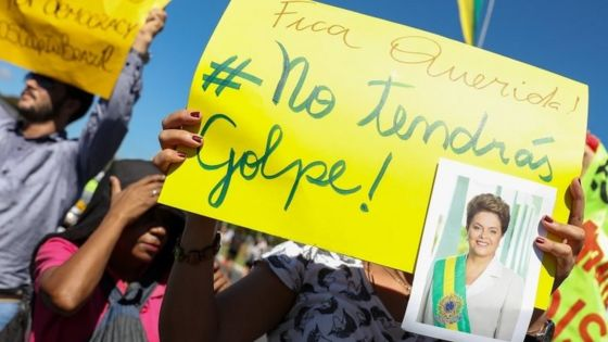 Image result for Dilma Rousseff impeached images