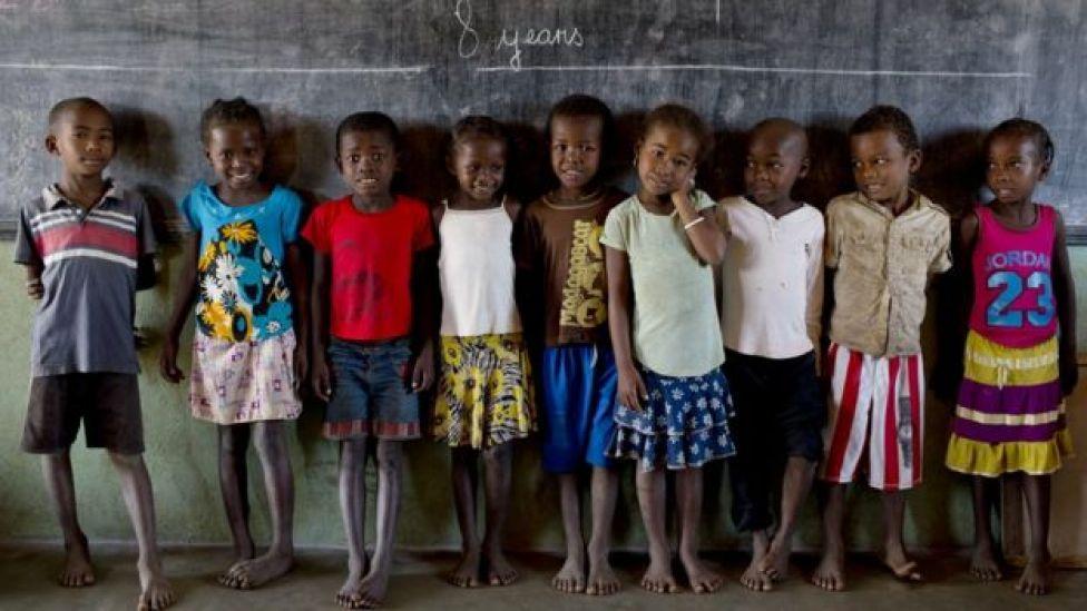 Niños en Mdagascar